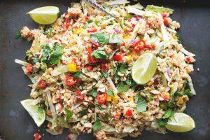 thai salad hers