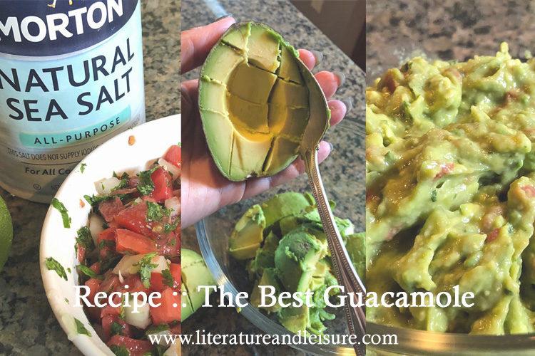 Recipe for the best guacamole