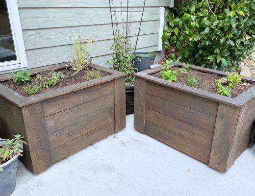 DIY Planter Box